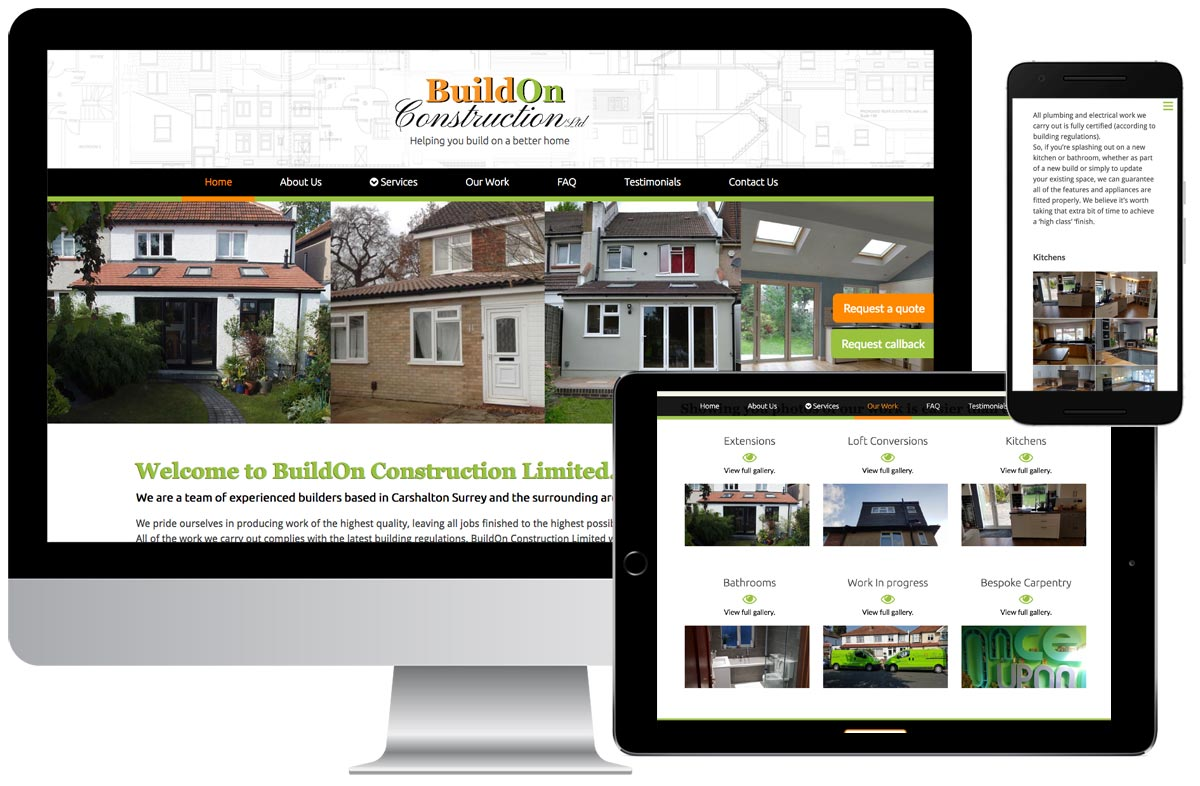 Buildon Construction Ltd website