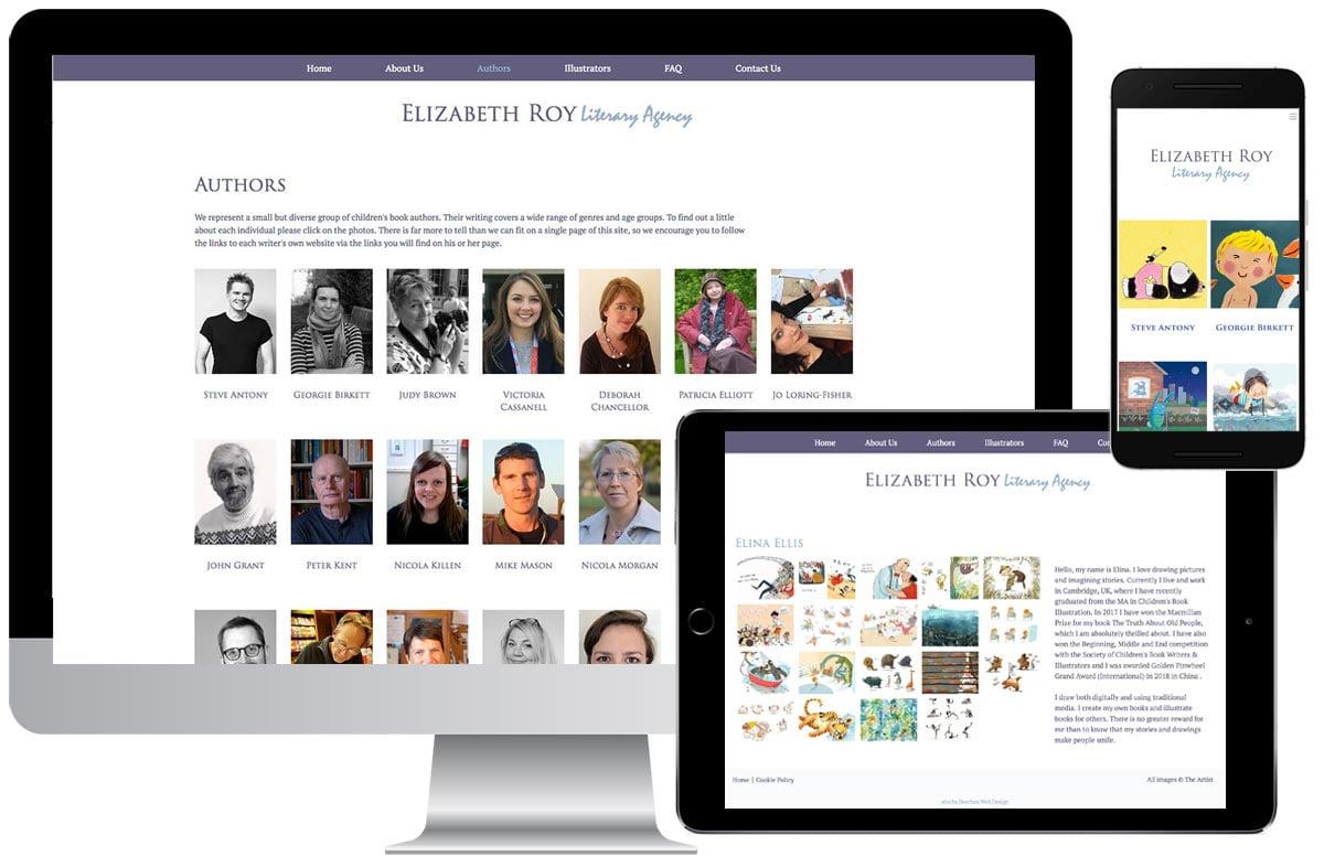 Elizabeth Roy Literary Agency website