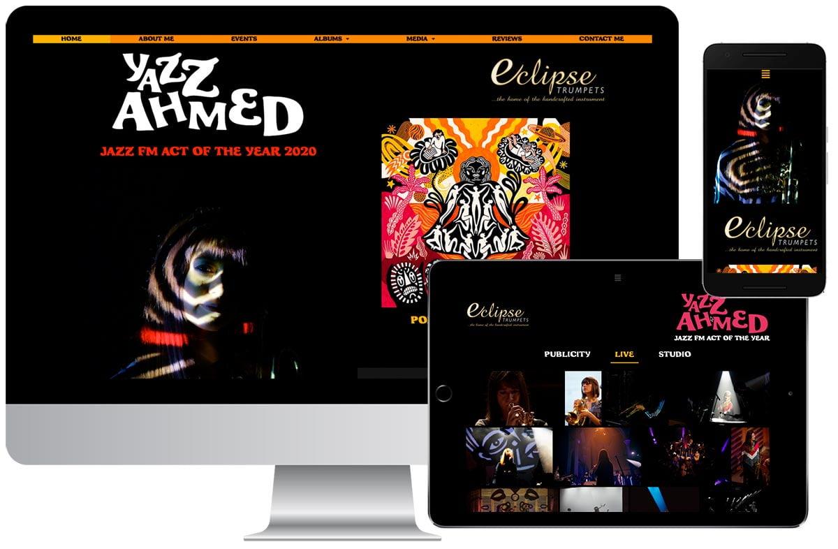 Yazz Ahmed website