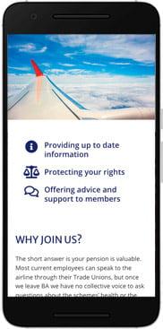 New ABAP website mobile