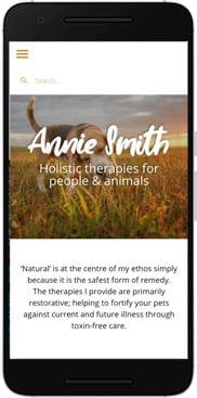 Annie Smith website